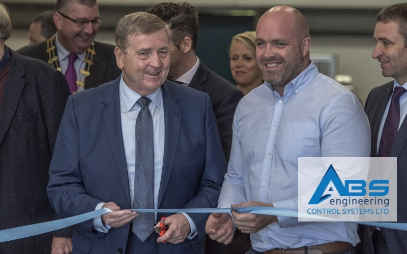 Minister Pat Breen Officially Opens ABS Engineering Control Systems Ltd