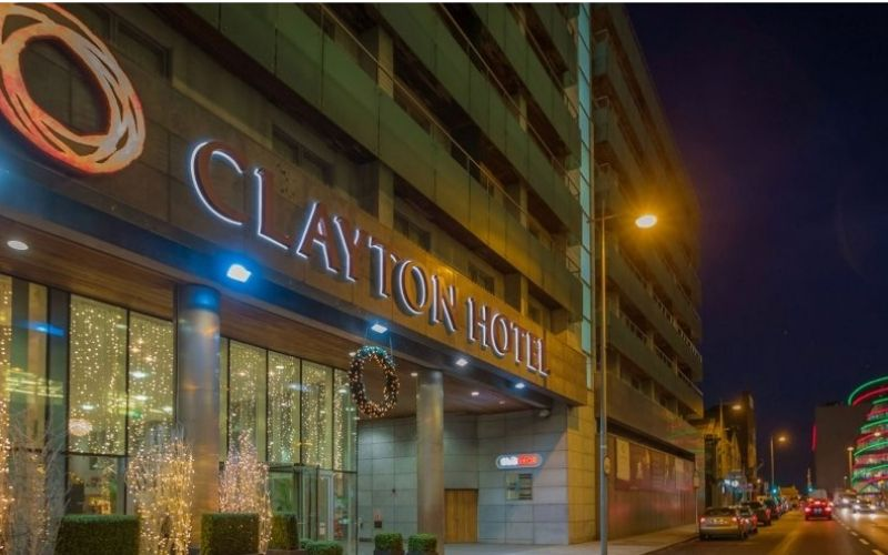 Works completed on Clayton Hotel Cardiff Lane Dublin